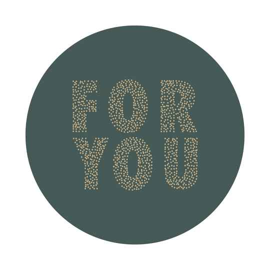 Sticker - For you / Petrol