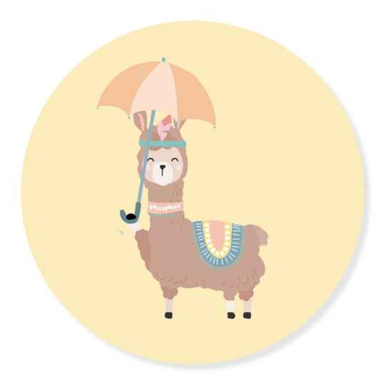 Sticker - Boho lama