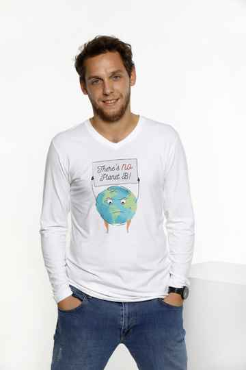 Longsleeve T-shirt - There's no Planet B