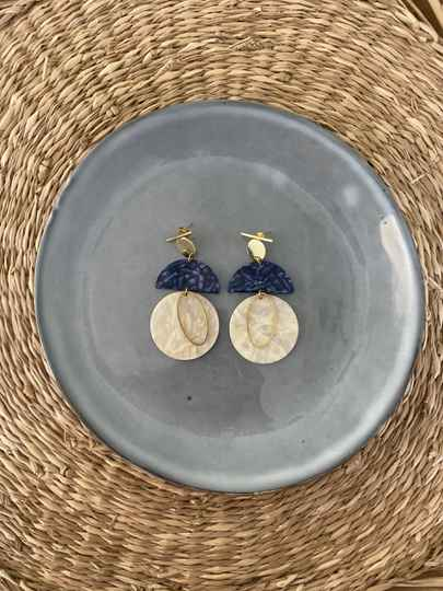 The Indigo Earring