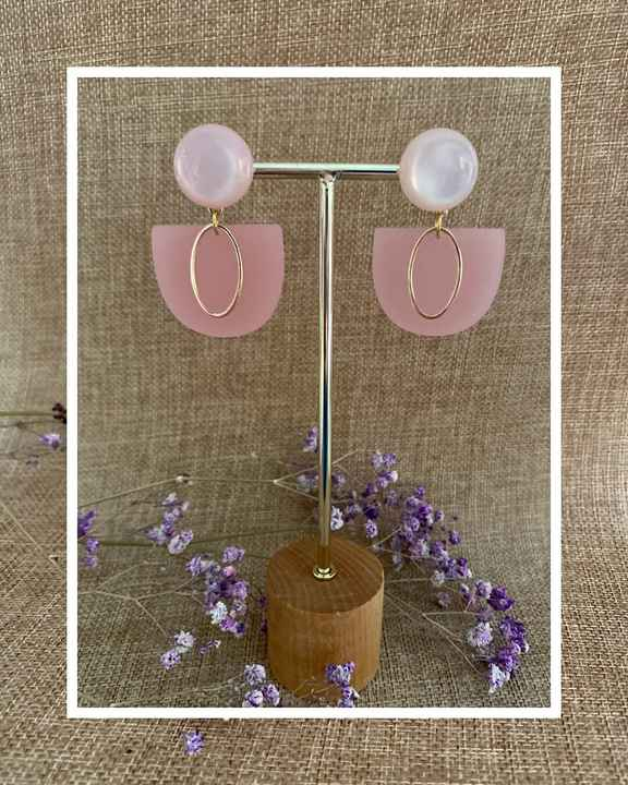 Rory Earring   Pink