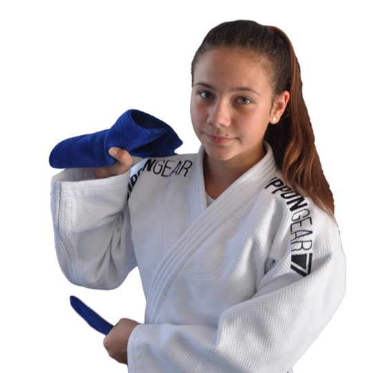 Ippon Gear Legend IJF Approved white or blue judogi