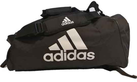 Adidas Training Sporttas 2 in 1 zwart/wit