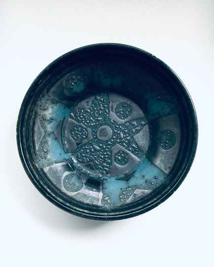 Midcentury Art Pottery Bowl by Carstens Tönnieshof, West Germany 1960's