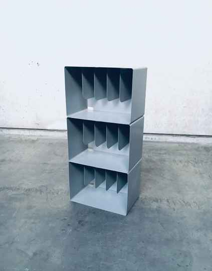 Industrial Design Metal Wall Unit 1960's Germany