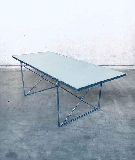 Postmodern Design 'Moment' Dining Table by Niels Gammelgaard for Ikea 1980's