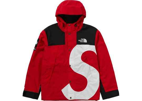 The North Face S Logo Jacket Red