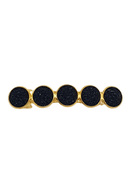 Haarspeld Cabochons All Black