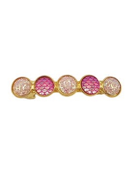 Haarspeld Cabochons Sparkle Pinky