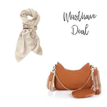 Musthave Deal - Lot83 BO & Tas Luxury Camel