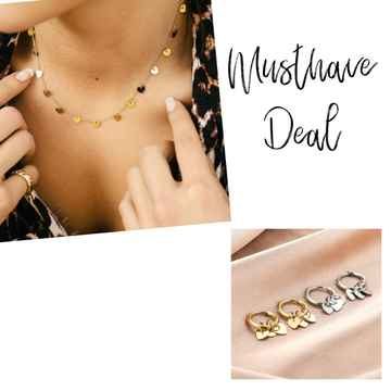 Musthave Deal - Sieradenset Hearts