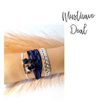 Musthave Deal - Armbandenset Classy Blue