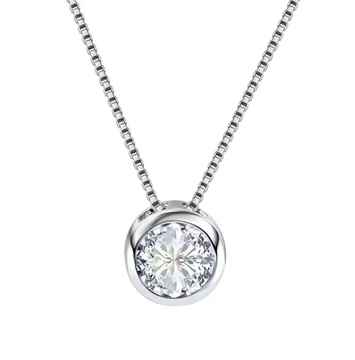 Ketting Round Silver
