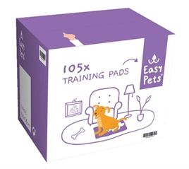 EASYPETS PUPPY TRAINING PADS 60X60 CM 105 ST