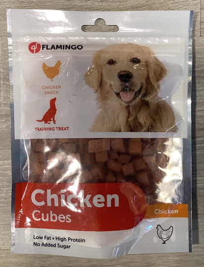 CHICKENSTICKS CUBES FLAMINGO 170G