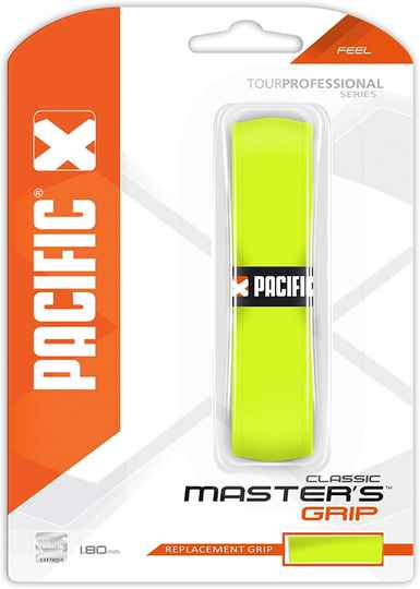 Pacific Master Grip Classic Basisgrip Neon Geel