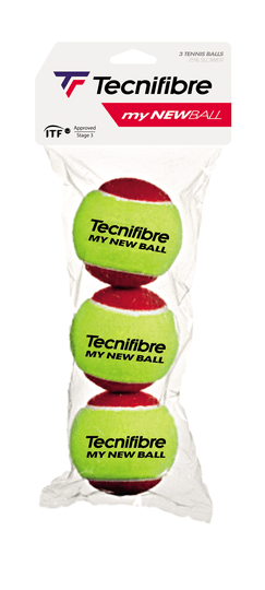 Tecnifibre My New Ball Stage 3 Rood Tennisbal