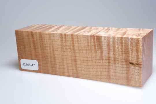 Curly Maple 153 x 44 x 51 mm, 43865-47