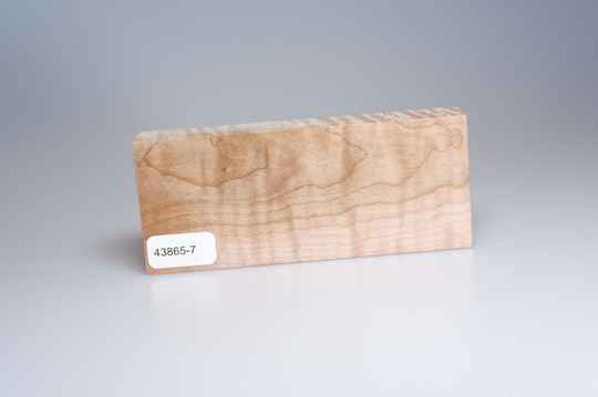 Curly Maple 122 x 24 x 51 mm, 43865-7