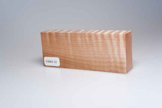 Curly Maple 122 x 24 x 49 mm, 43865-12