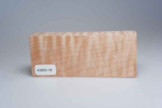 Curly Maple 122 x 24 x 49 mm, 43865-18