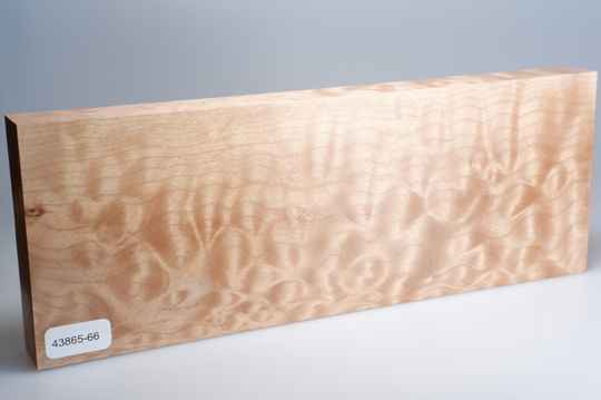 Quilted Maple 263 x 27 x 97 mm, 43865-66