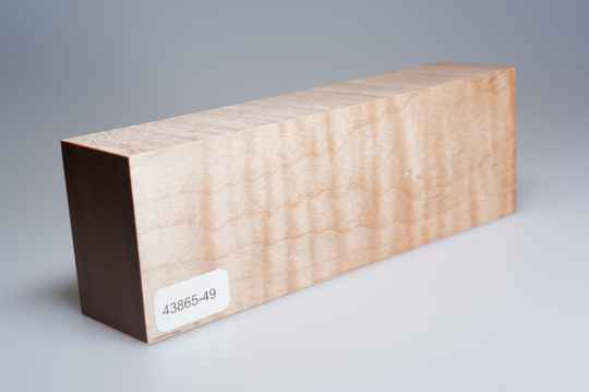 Curly Maple 158 x 35 x 53 mm, 43865-49