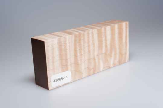 Curly Maple 122 x 24 x 51 mm, 43865-14
