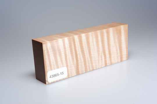 Curly Maple 123 x 24 x 47 mm, 43865-15