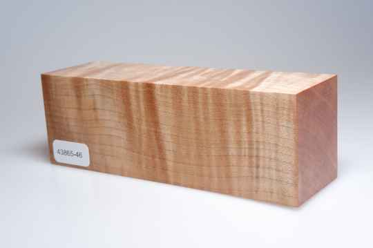 Curly Maple 149 x 45 x 51 mm, 43865-46