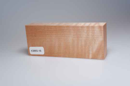 Curly Maple 122 x 22 x 49 mm, 43865-16