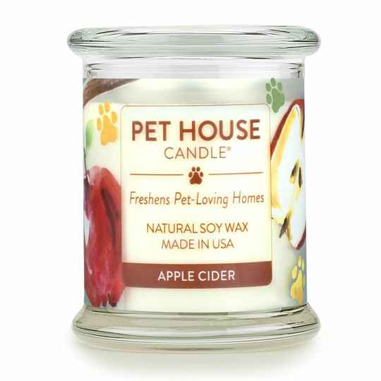 Pet House Candle | Apple cider