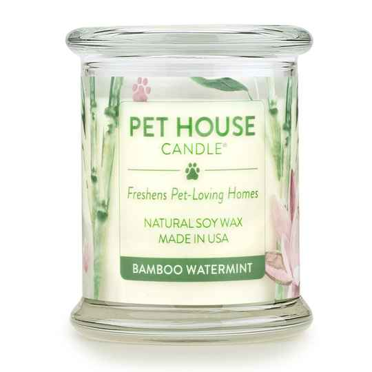 Pet House Candle | Bamboo Watermint