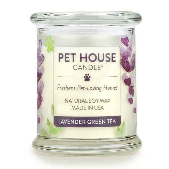 Pet House Candle | Lavender Green tea