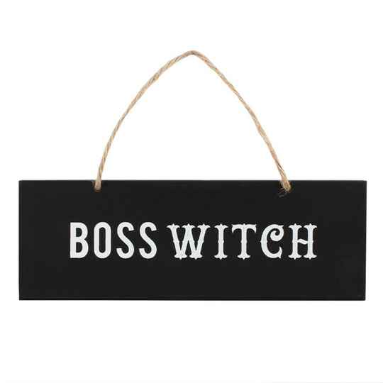 Boss witch Wandbord