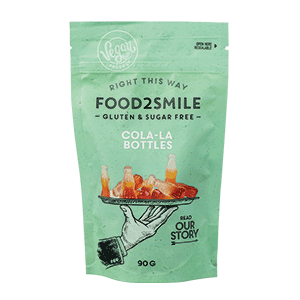 Food2Smile Cola Flesjes - 100 gram