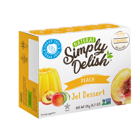 Simply Delish Perzik Jelly - 20 gram