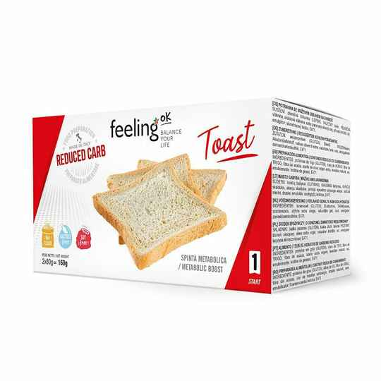 Toast Naturel - 160 gram