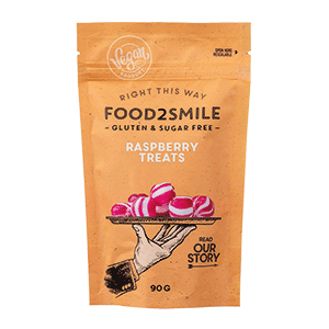 Food2Smile Kandies Framboos - 100 gram