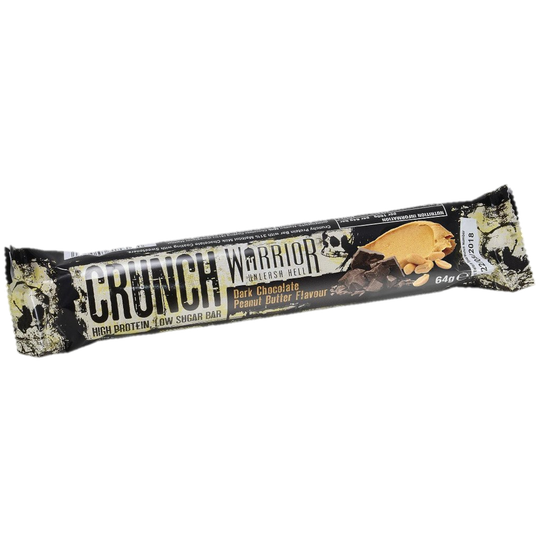 Warrior Crunch Bar Dark Chocolate Peanut Butter - 64 gram
