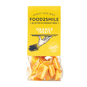 Food2Smile Kandies Sinaasappel Ananas - 100 gram