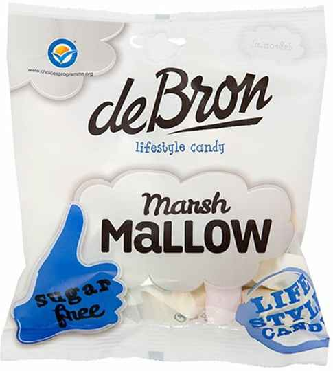 De Bron Marshmallows - 75 gram