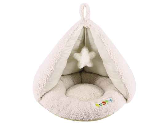 NOBBY - COMFORT TENT OVAAL PUPPY CREME