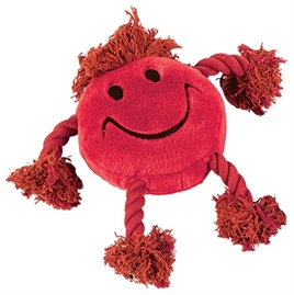 HAPPY PET HAPPY FACES PLUCHE SMILEY ROOD 29X26X8 CM