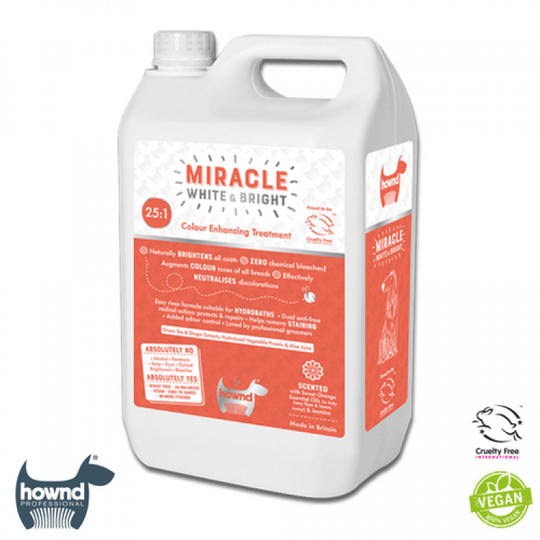 Hownd - Miracle White & Bright Colour Enhancing Conditioning Shampoo 25:1 (5L)