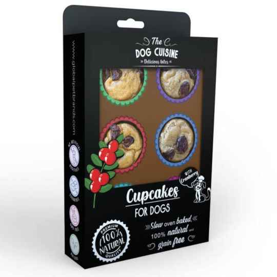 The Dog Cuisine Cupcakes Cranberry 150G