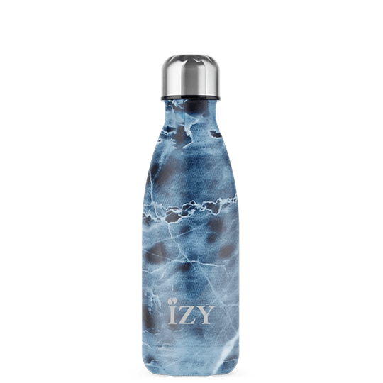 IZY - Marble Blue thermosfles 350ML