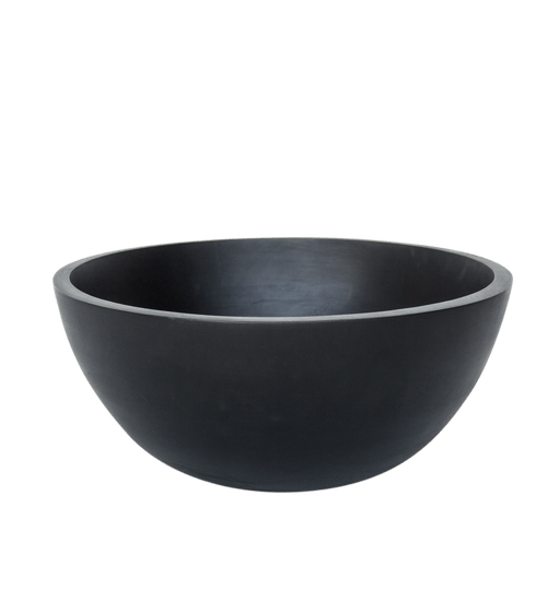 Urban Nature Culture | Shizu Mango Wood Bowl | Dark Brown