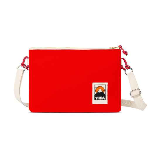 YKRA | Side Pouch | Rood