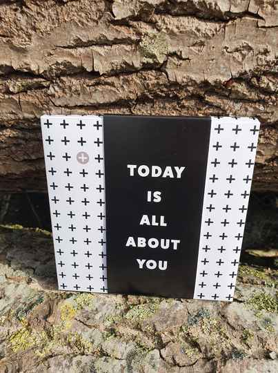 Today is all about you (chocolade)